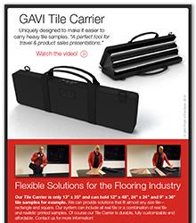 GAVI Tile Carrier