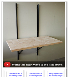 New Folding Workbench