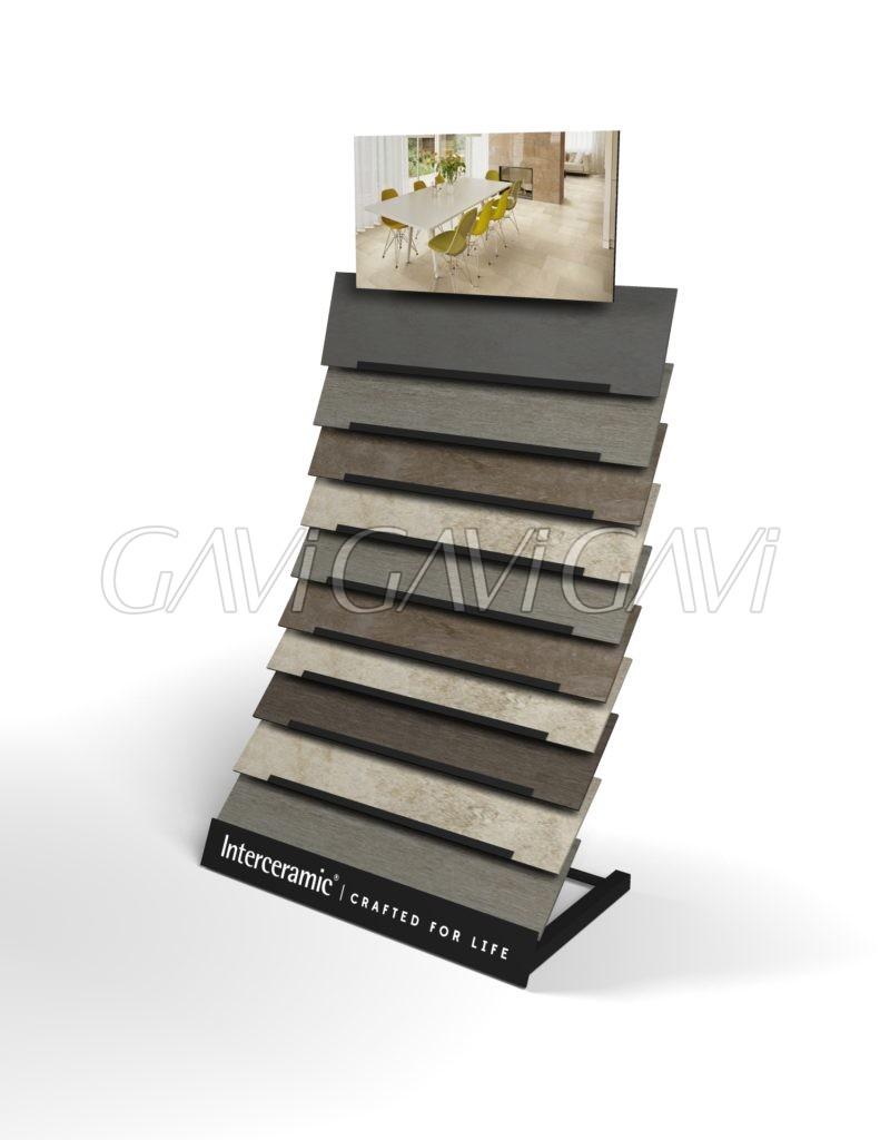 Plank displays gavi point of purchase custom flooring Virtual flooring